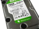 Western Digital Green 750Gb SATA-II, бу